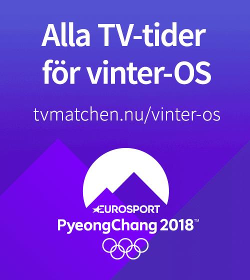 Alla TV-tider för vinter-OS här på siten