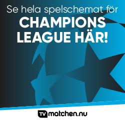 Spelschema för Champions League