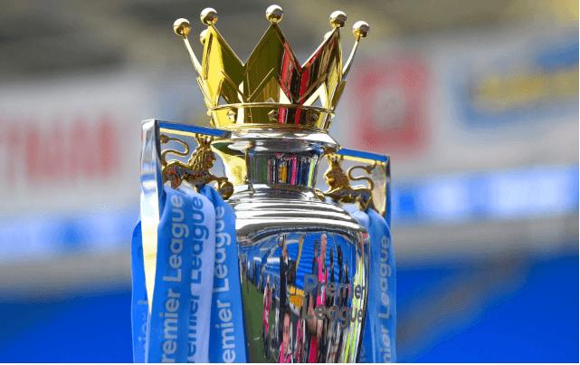 Premier League trophy