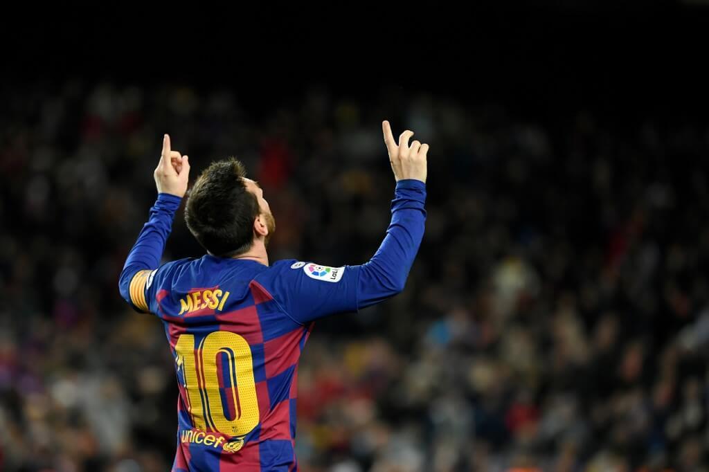 Messi - den bäst betalda fotbollsspelaren och atleten i världen. Foto: AFP