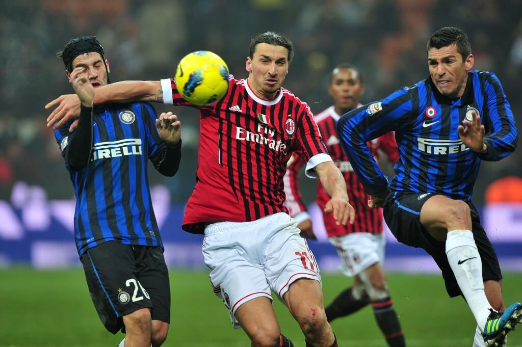 Derby Della Madonnina - ett av alla derbyn i Italien.