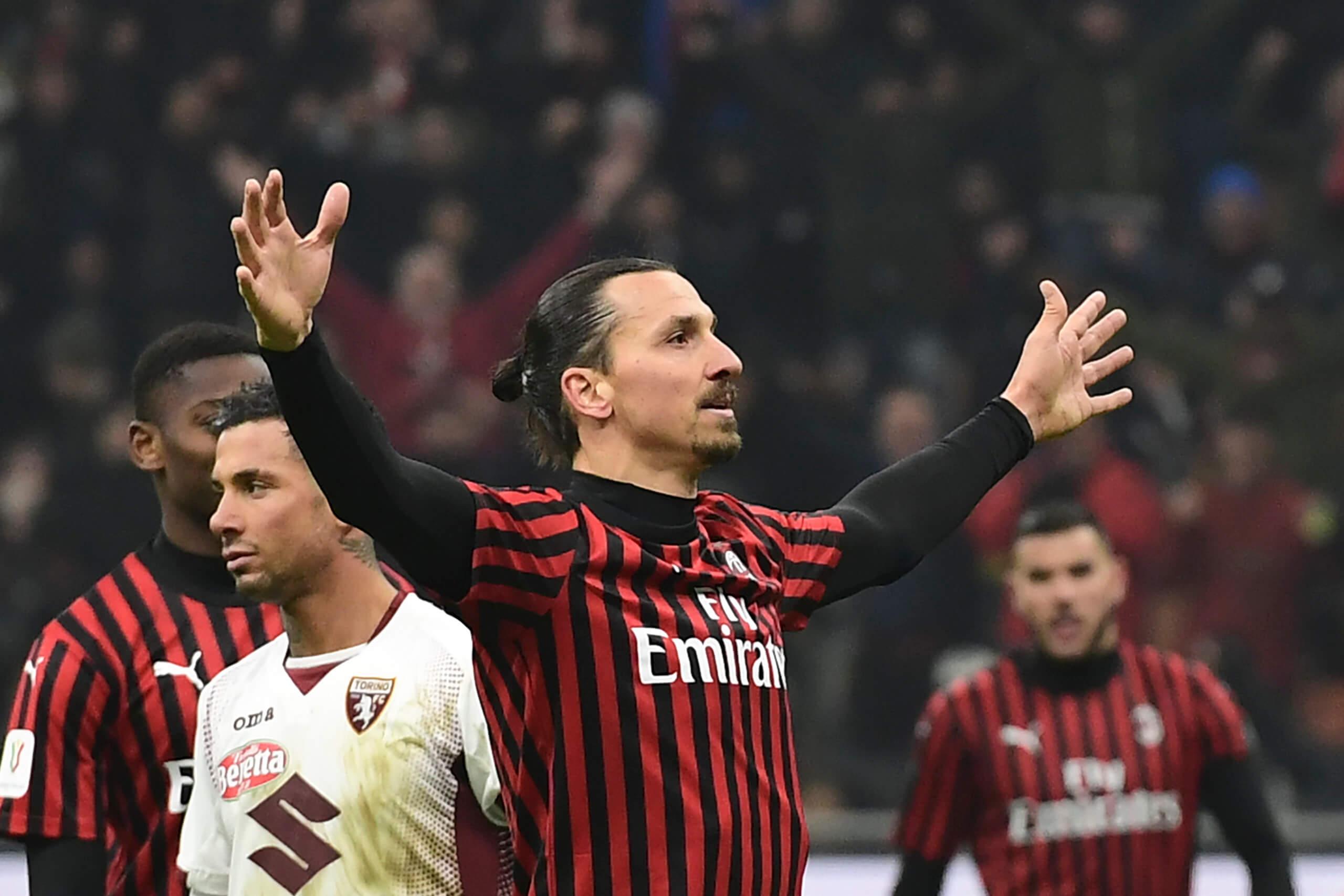 Zlatan Ibrahimovic i Milan