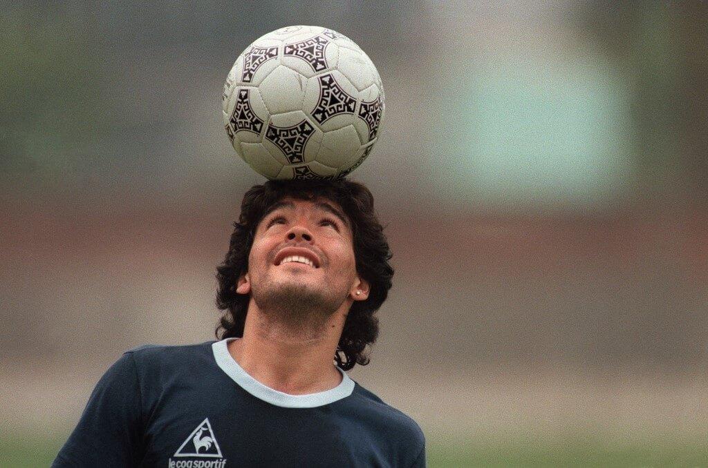 Diego Maradona - en av historiens bästa nummer 10.