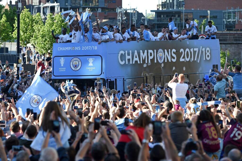 Manchester City slog Premier Leagues poängrekord 2017/2018.