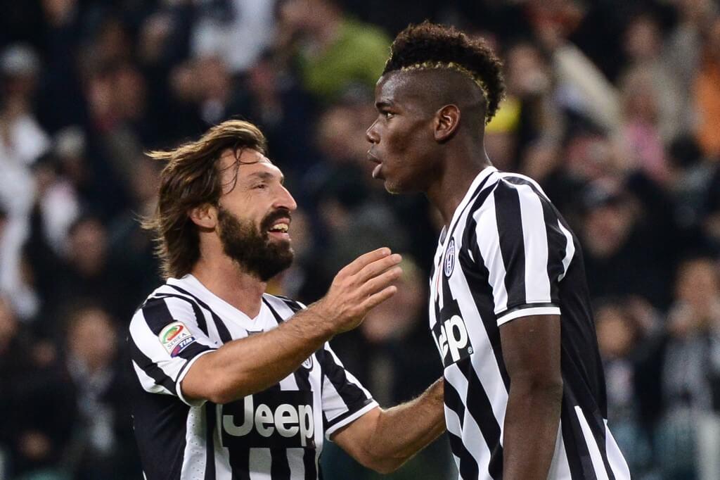 Pirlo och Pogba - några av Juventus alla gratis övergångar.