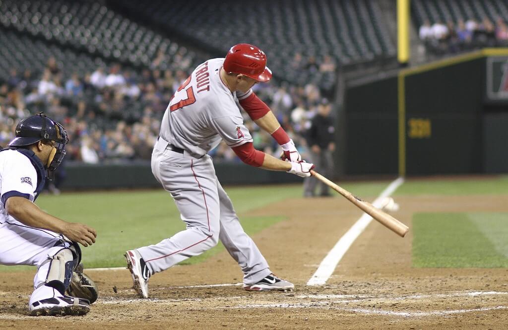 Mike Trout är bäst betald i MLB