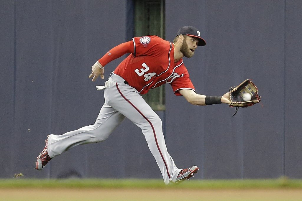 Bryce Harper - näst bäst betald i Major League Baseball