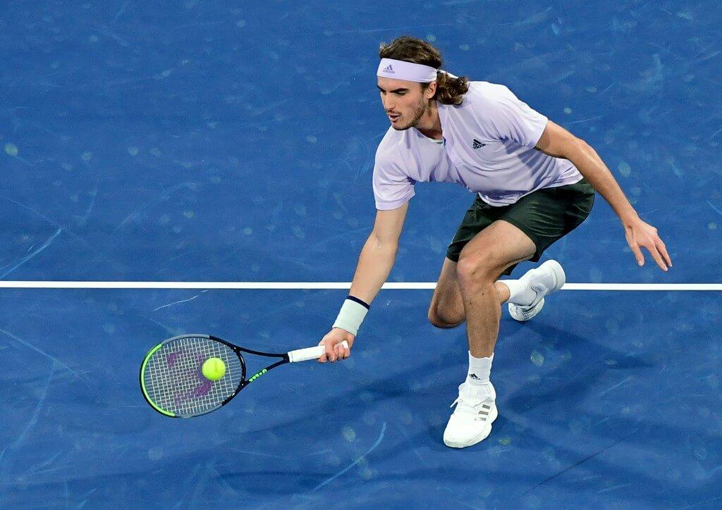 Stefanos Tsitsipas är med i Ultimate Tennis Showdown