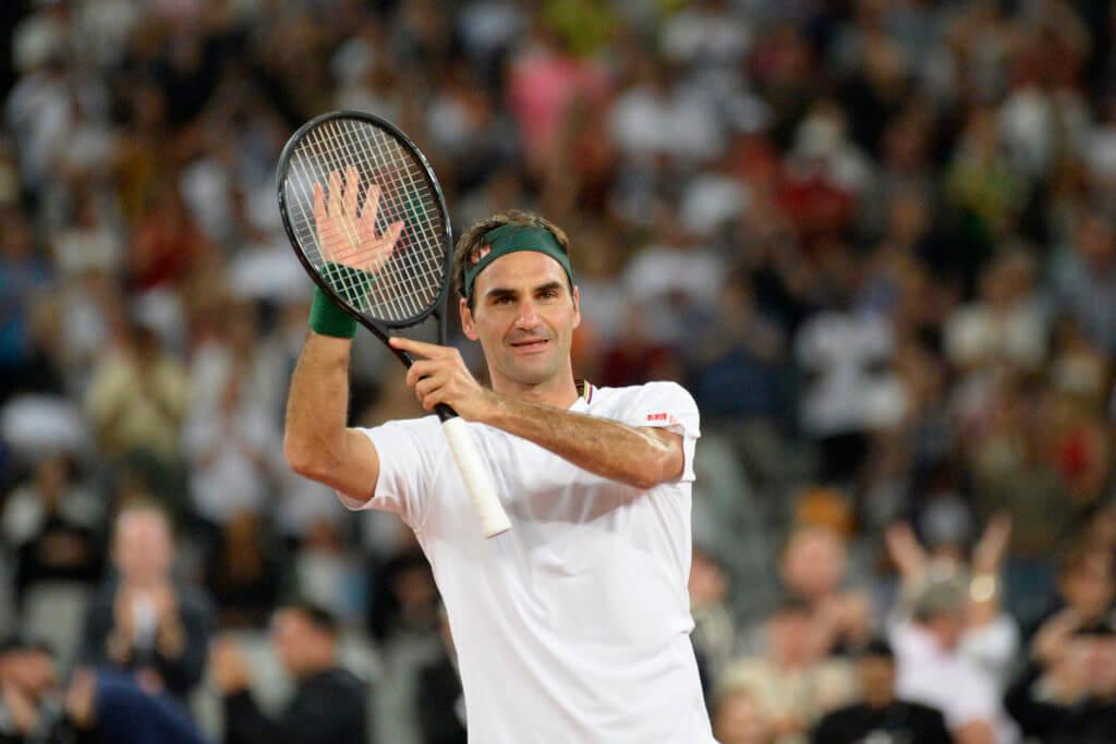 Världens bäst betalda idrottare 2020 - Roger Federer.