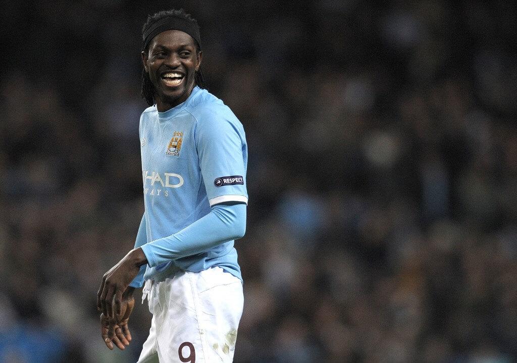 Emmanuel Adebayor har spelat för både Arsenal och Man City