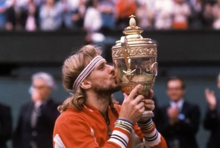 Wimbledon 1980 Björn Borg